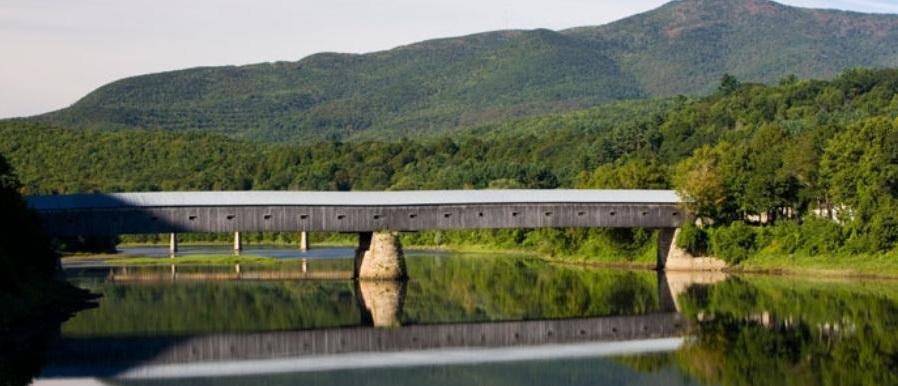 Cornish, New Hampshire and Windsor, Vermont Covered Bridge