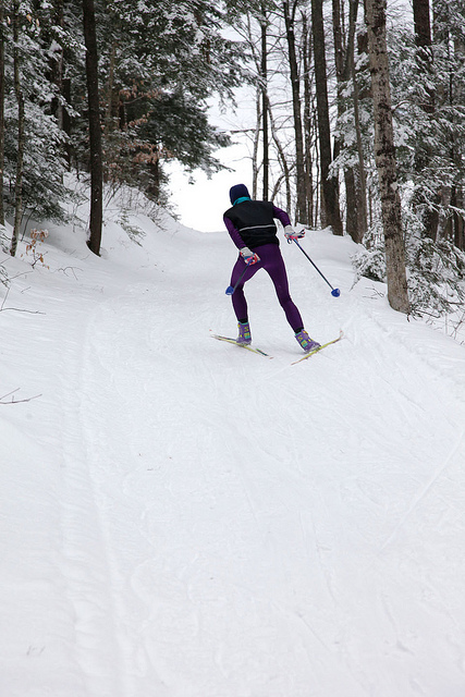Cross Country Skiing at Eastman