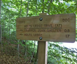 Holt's Ledge and Trapper John's Shelter