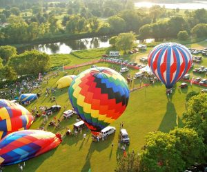 Quechee Vermont Hot Air Balloon Festival