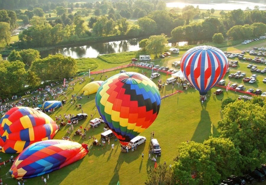 Quechee Vermont Hot Air Balloon Festival