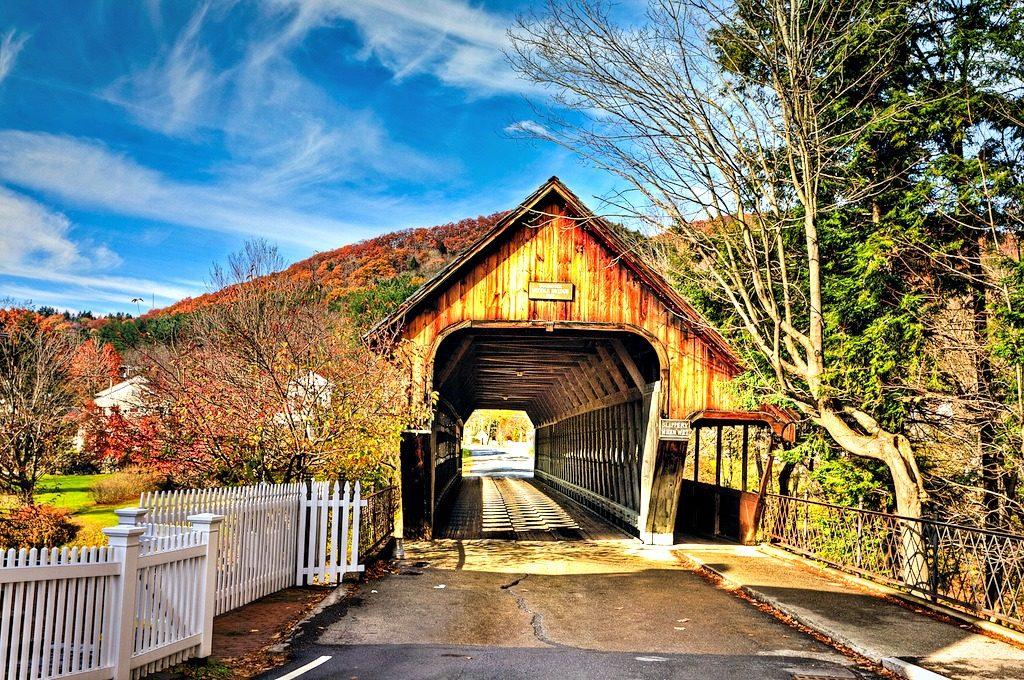 Middle Covered Bridge - Woodstock, Vermont