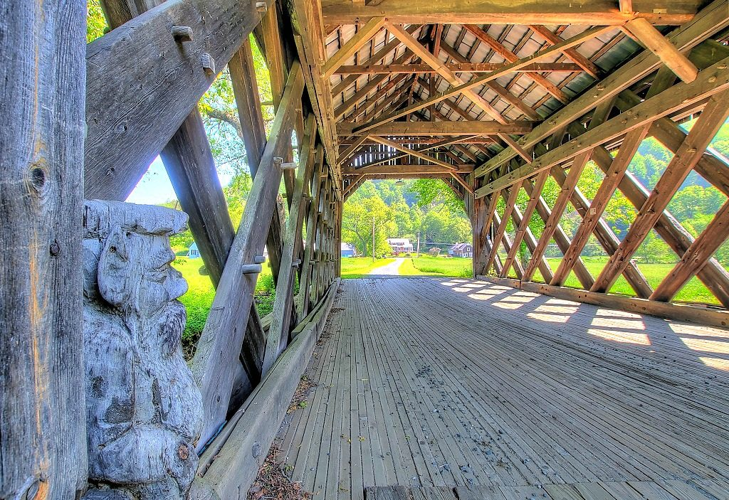 South Pomfret, Smith Covered Bridge
