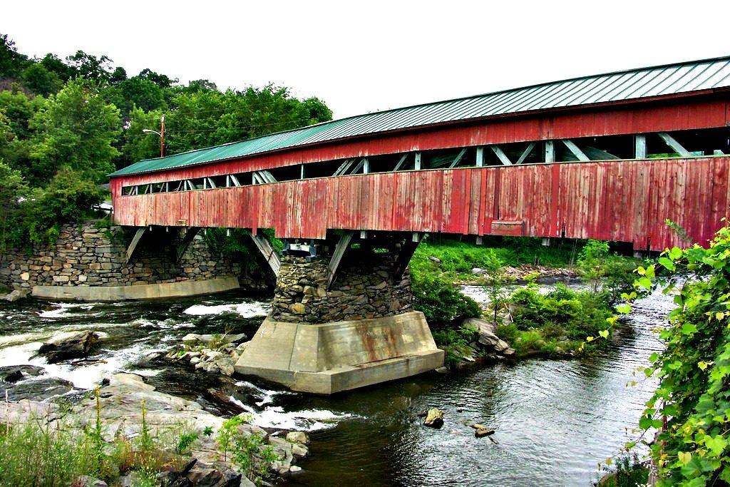 Taftsville Covered Bridge - Woodstock, VT