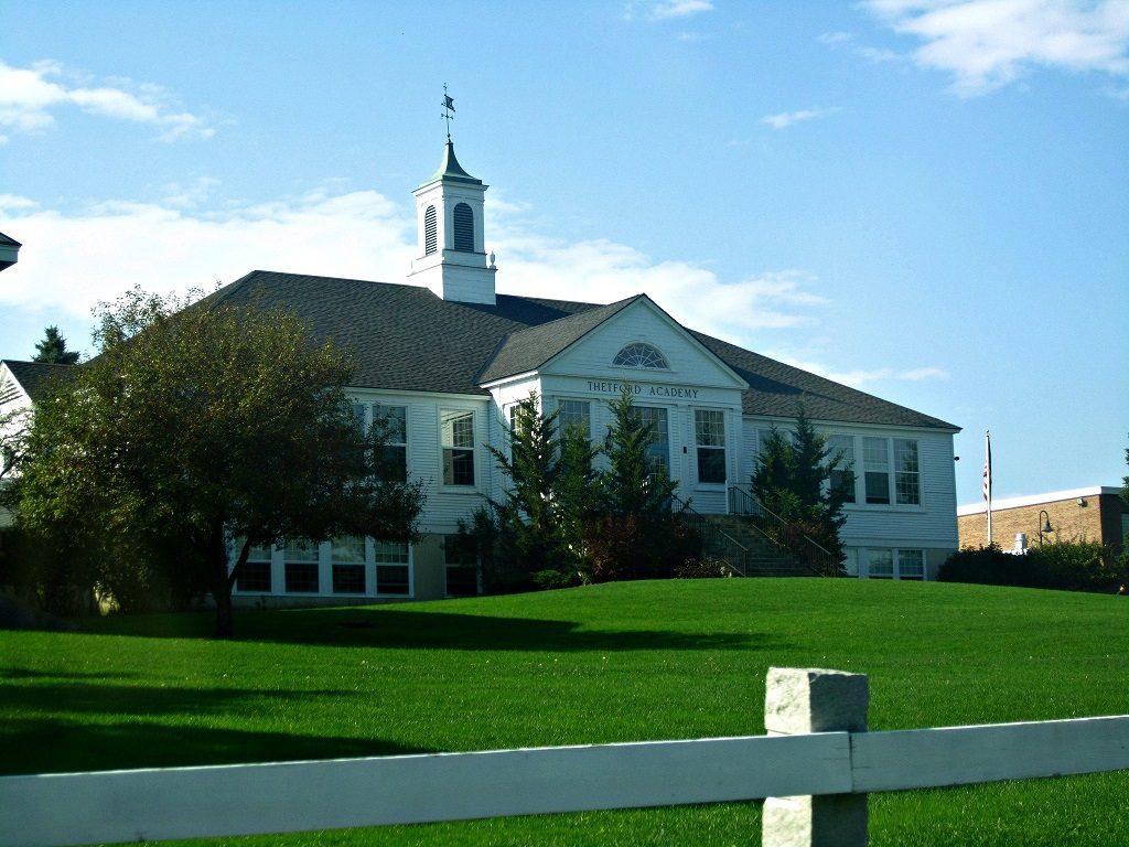 Thetford Vermont's Thetford Academy High School