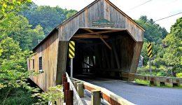 Thetford, Vermont - Union Village Covered Bridge