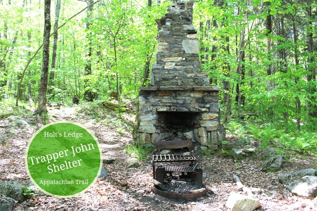 Fireplace at Trapper John Shelter