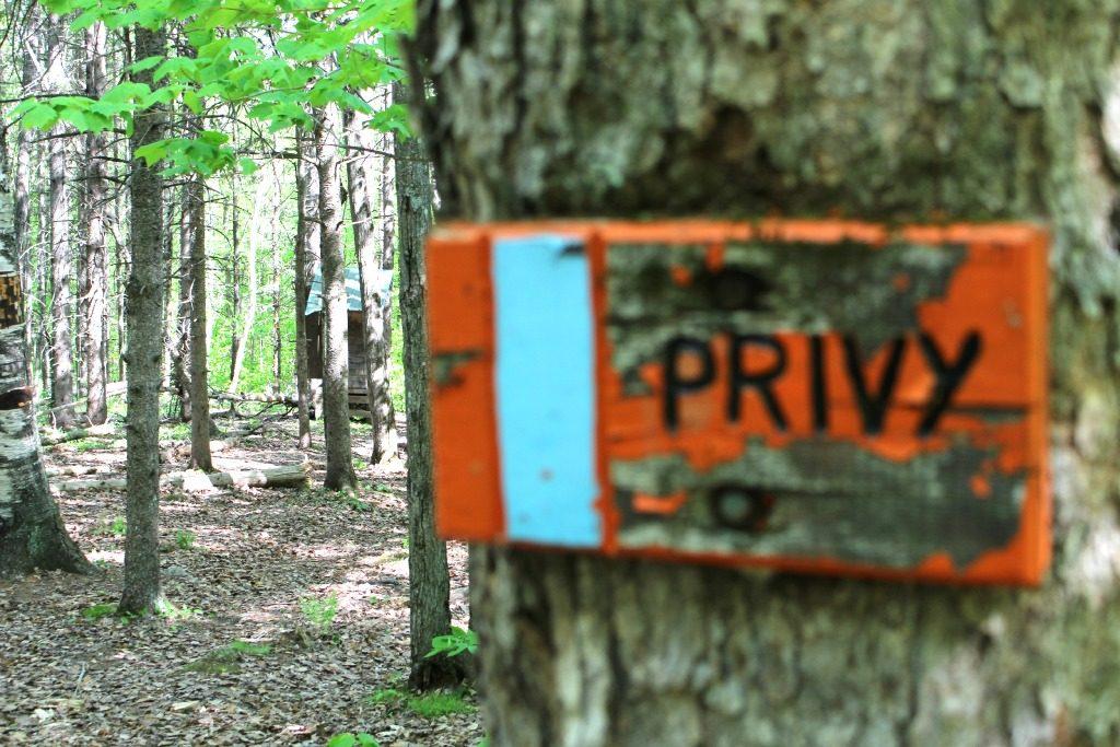 Privy at Trapper John Shelter