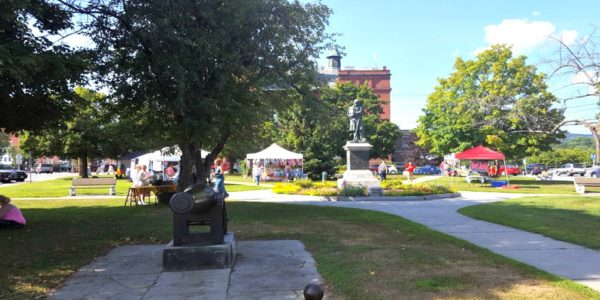 Farmer's Market in Claremont, New Hampshire